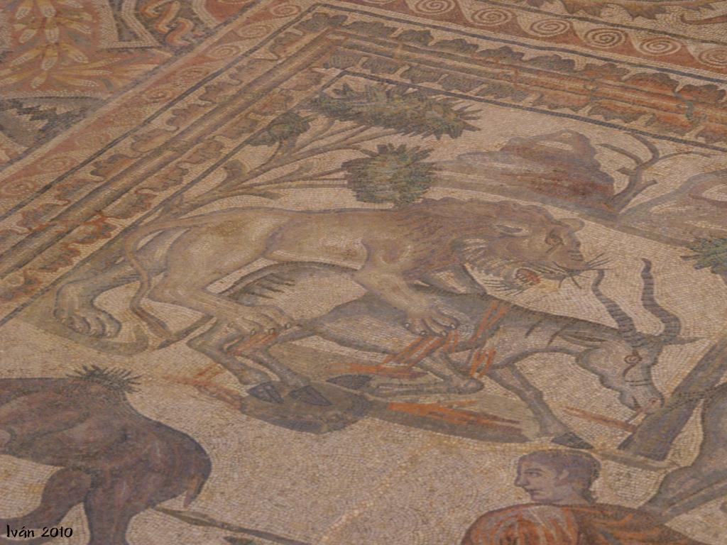Detalle mosaico principal