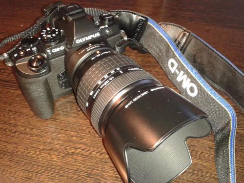 Estrenamos cámara OM-D E-M1