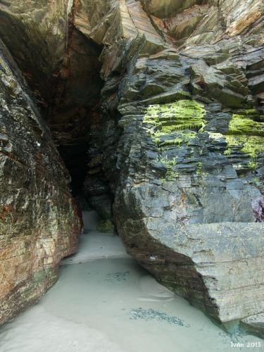 Grieta en la roca