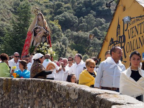 Procesión en Molinaseca