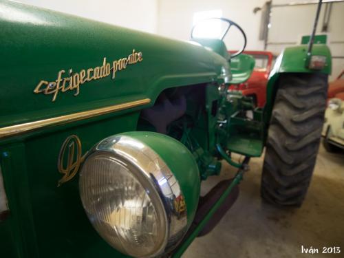 Reparación de tractores históricos