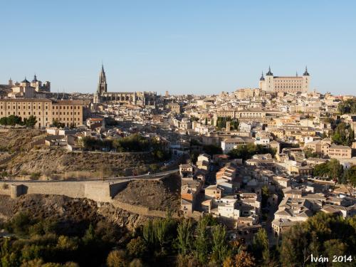 Toledo al atardecer